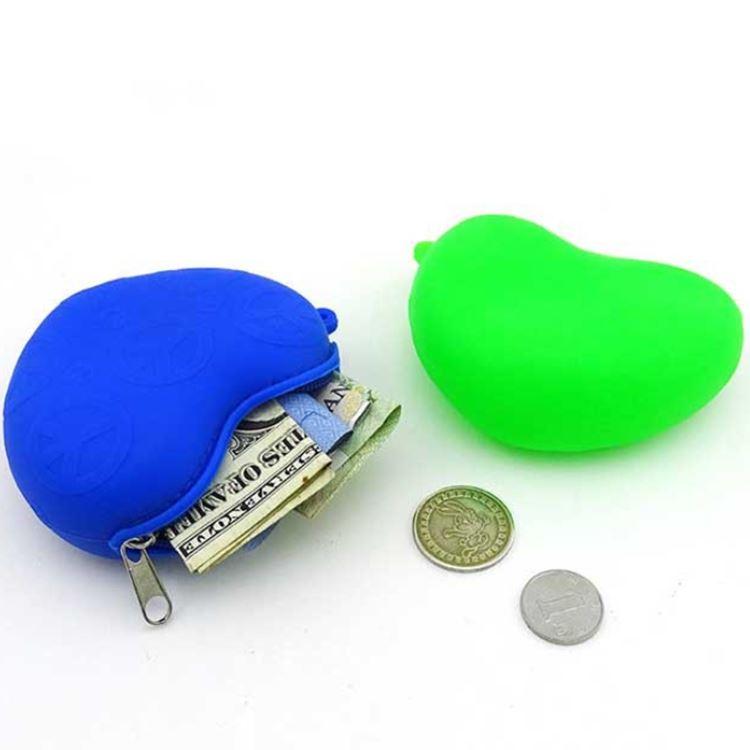 Silicone Coin Purse With Zipper