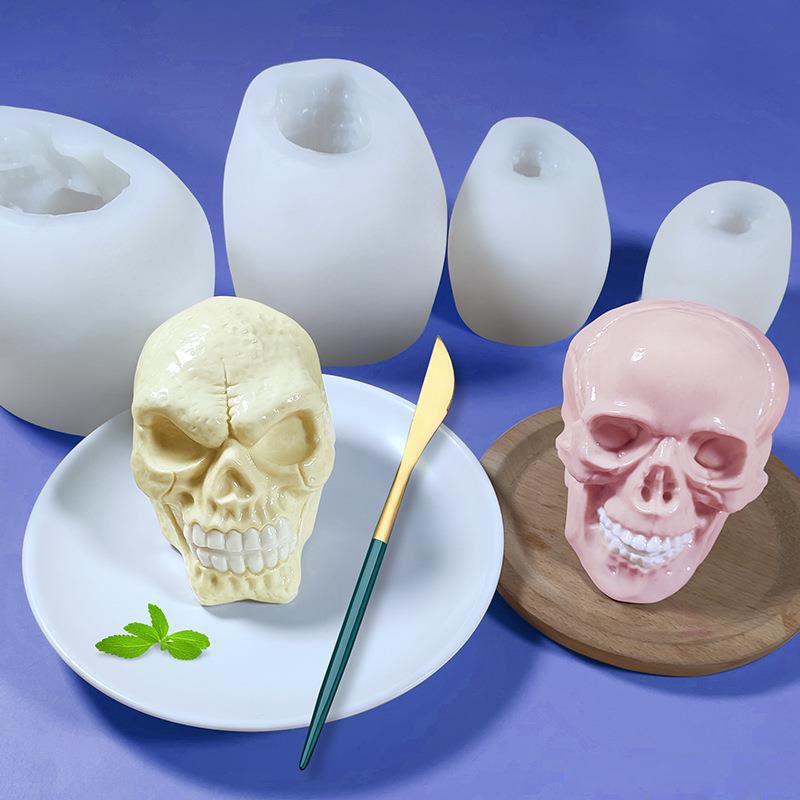 A Great Design Skull Silicone Mold