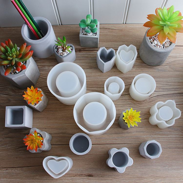 How Difficult Is It To Make A Cement Flower Pot Yourself?