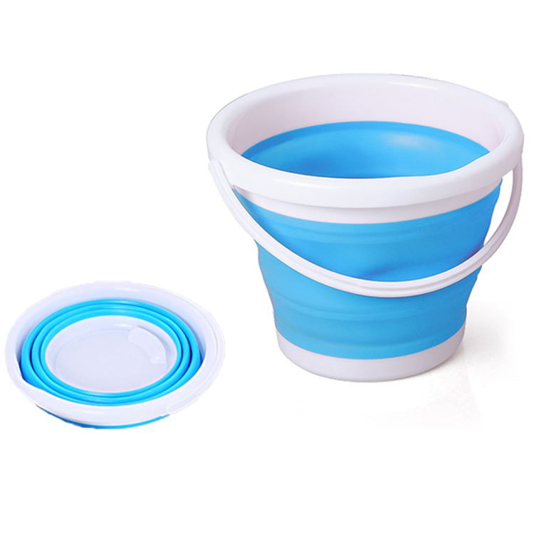 What Is A Folding Silicone Bucket?