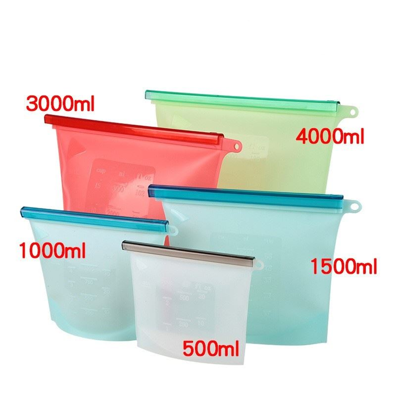 Are There Any Advantages Of Silicone Fresh-keeping Bags?